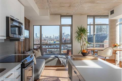 Apartment for rent at 2 Gladstone Ave Unit 805 Toronto Ontario - MLS: C4673372