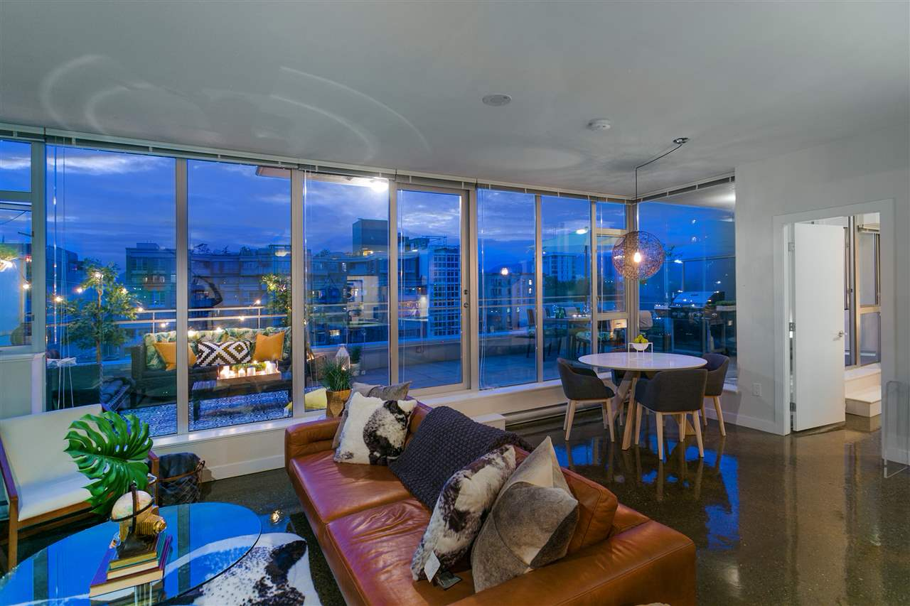 Sold: 805 - 221 Union Street, Vancouver, BC
