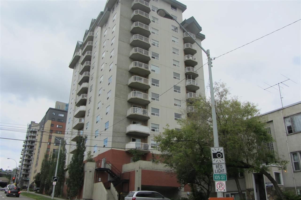 Condo for sale at 9707 105 St NW Unit 805 Edmonton Alberta - MLS: E4218920