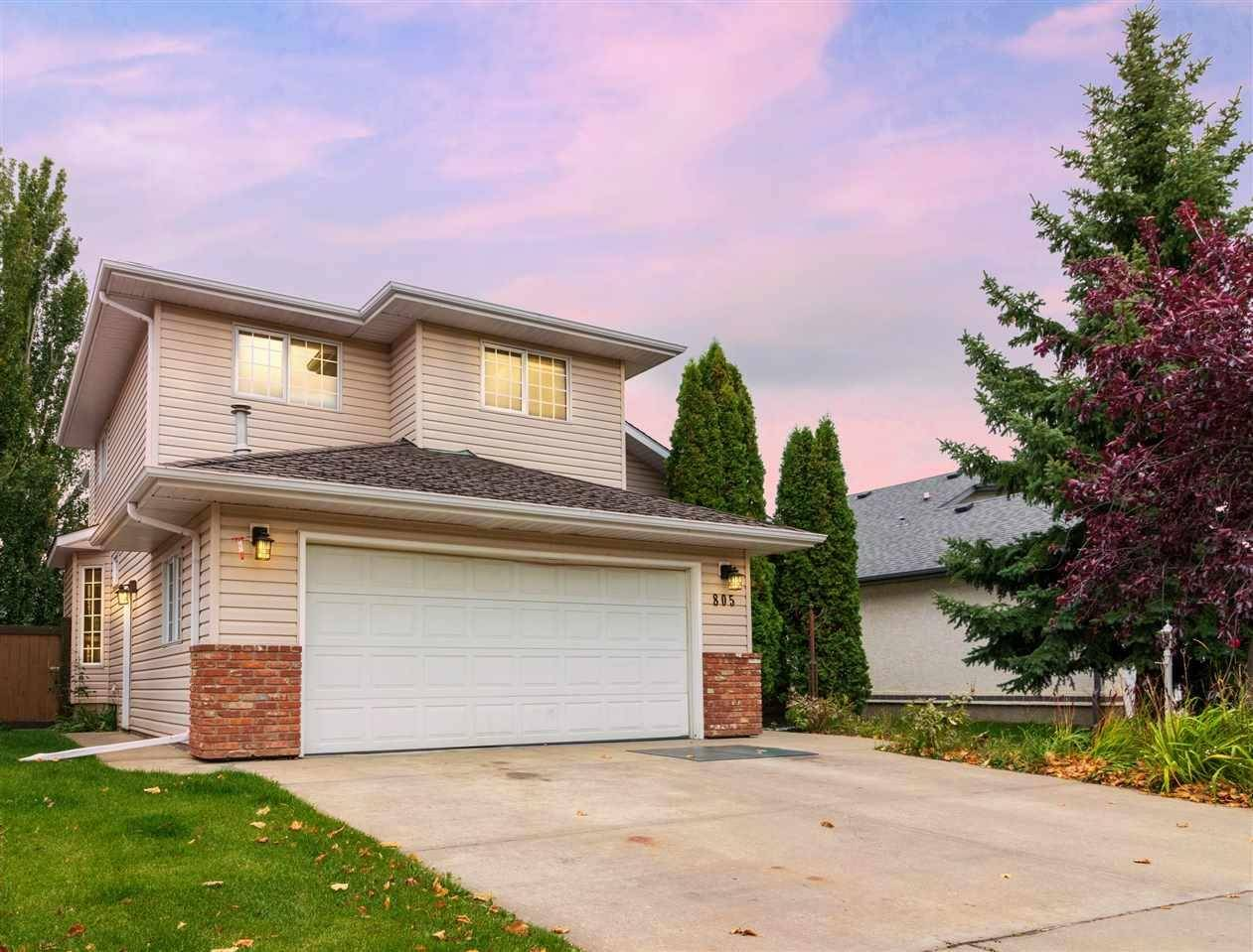 House for sale at 805 Burton Lo  Nw Edmonton Alberta - MLS: E4175742