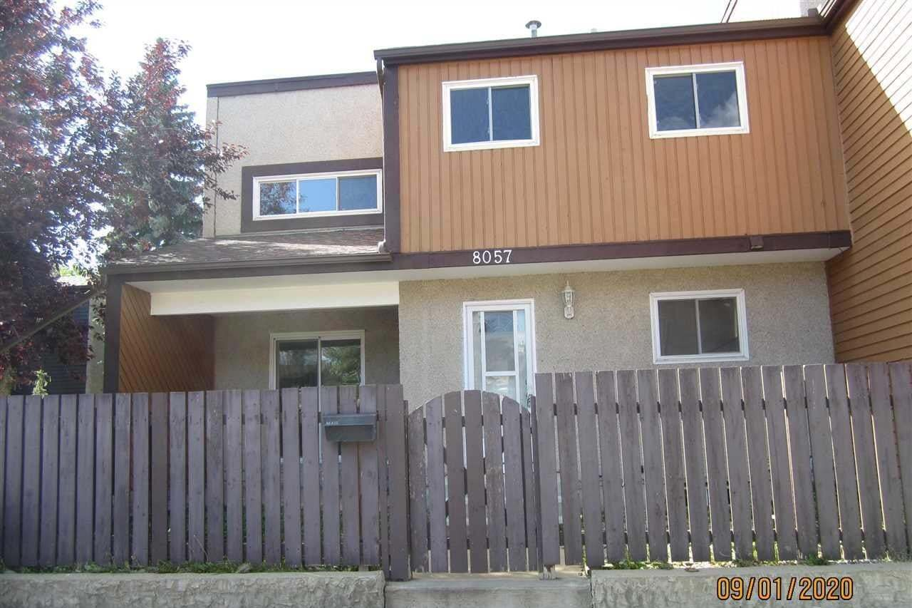 Townhouse for sale at 8057 27 Av NW Edmonton Alberta - MLS: E4212503