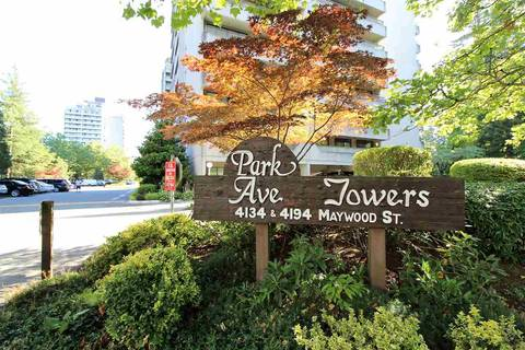 Condo for sale at 4194 Maywood St Unit 806 Burnaby British Columbia - MLS: R2386292
