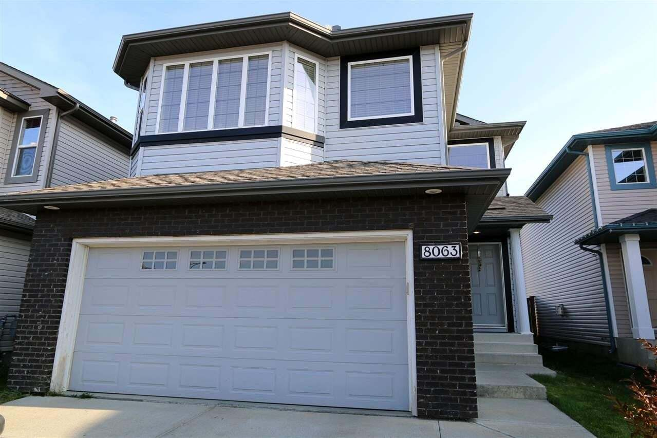 House for sale at 8063 Shaske Dr NW Edmonton Alberta - MLS: E4202628