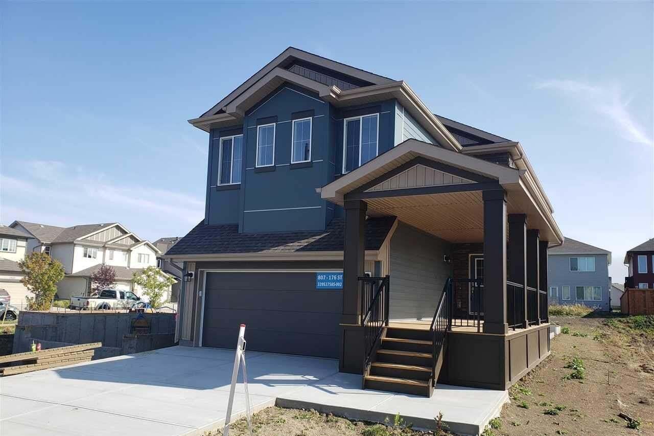 House for sale at 807 176 St SW Edmonton Alberta - MLS: E4204669