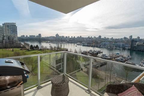 Condo for sale at 633 Kinghorne Me Unit 807 Vancouver British Columbia - MLS: R2360582