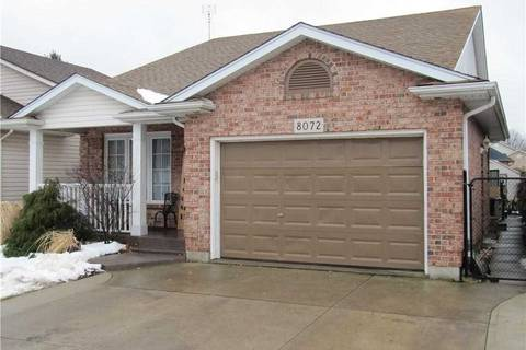 House for sale at 8072 Harvest Cres Niagara Falls Ontario - MLS: X4698234