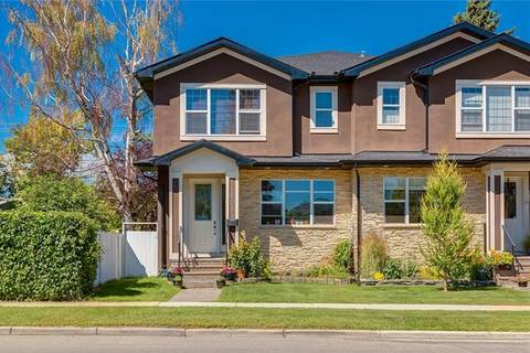 Townhouse for sale at 808 20 Ave Northwest Calgary Alberta - MLS: C4284694
