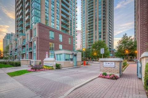 Apartment for rent at 26 Olive Ave Unit 808 Toronto Ontario - MLS: C4737345