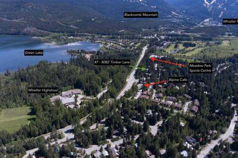 Townhouse for sale at 8082 Timber Ln Whistler British Columbia - MLS: R2474180