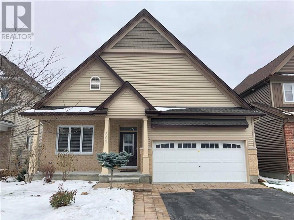 House for sale at 809 Slattery's Field St Ottawa Ontario - MLS: 1173567