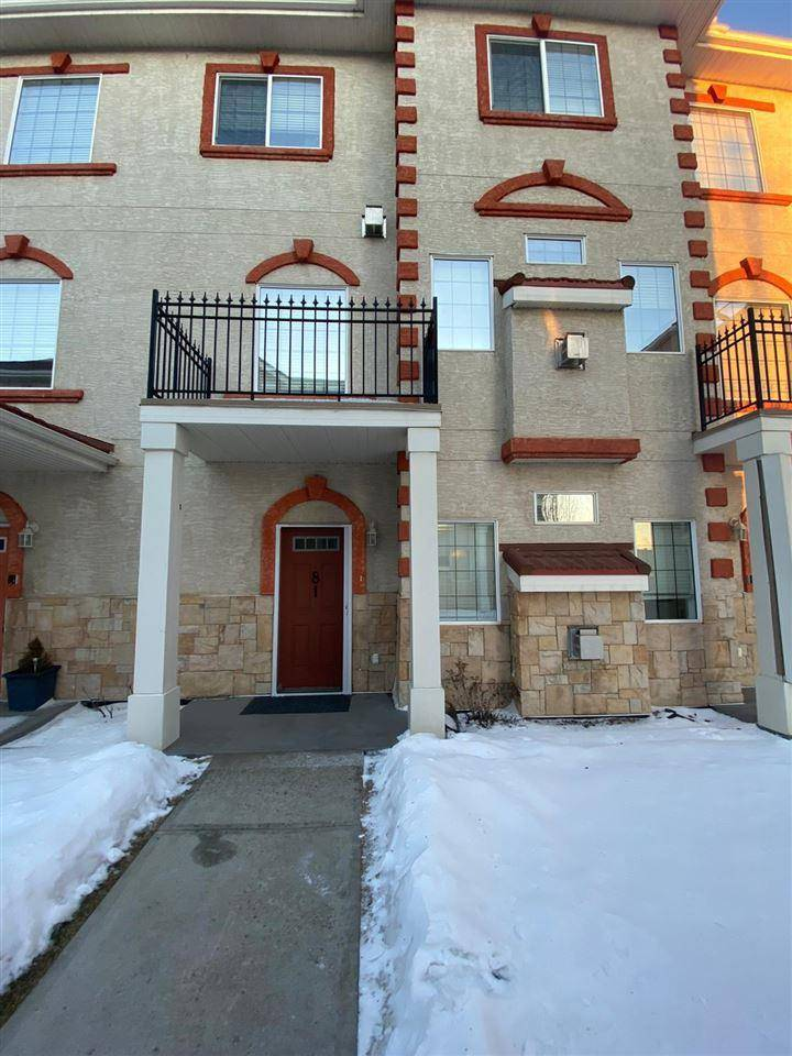 Townhouse for sale at 13825 155 Ave Nw Unit 81 Edmonton Alberta - MLS: E4191675