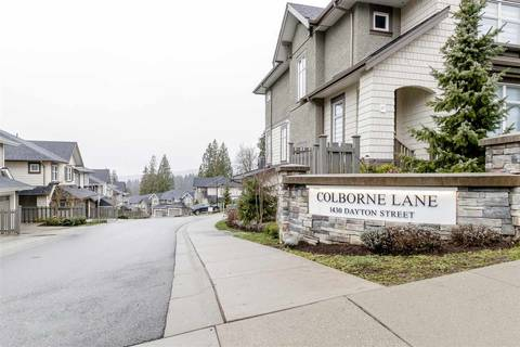 Townhouse for sale at 1430 Dayton St Unit 81 Coquitlam British Columbia - MLS: R2445666