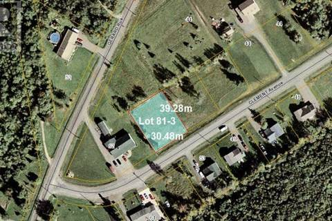 Residential property for sale at 0 Clement Ave Unit 81-3 St. Antoine New Brunswick - MLS: M121048