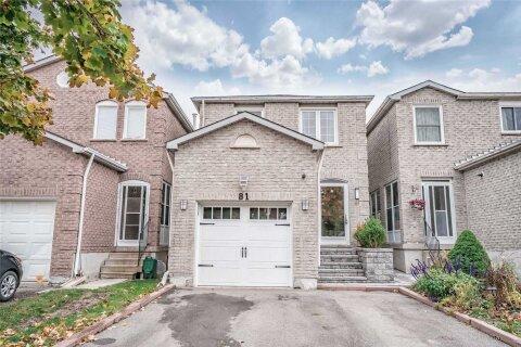 House for sale at 81 Alderbury Dr Markham Ontario - MLS: N4965625