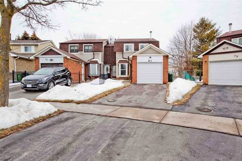Townhouse for sale at 81 Barnwell Dr Toronto Ontario - MLS: E4634852