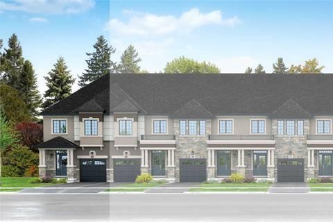 Townhouse for sale at 81 Bilanski Farm Rd Brantford Ontario - MLS: X4670811