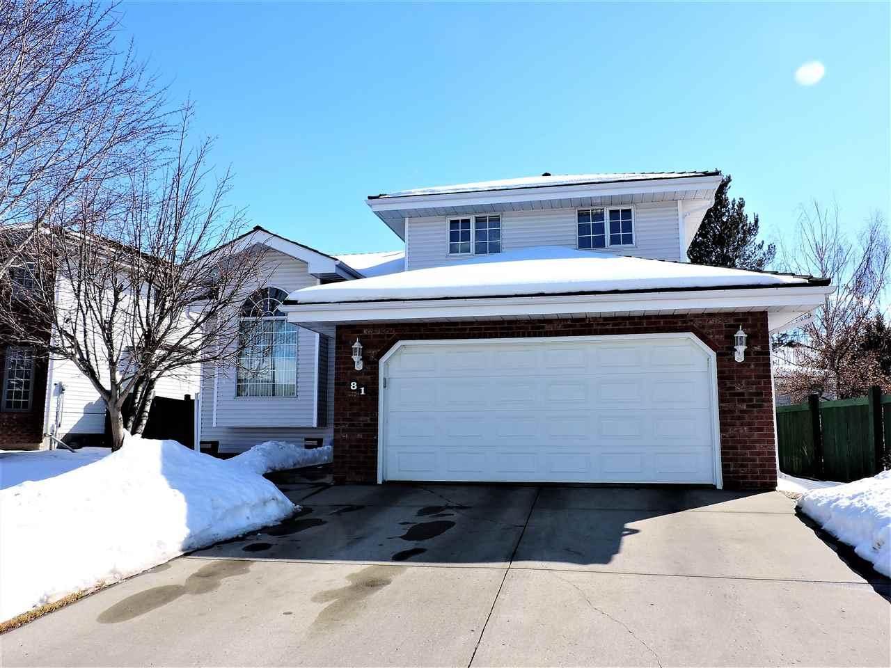 For Sale: 81 Blackburn Drive, Edmonton, AB   3 Bed, 4 Bath House for $514,900. See 27 photos!