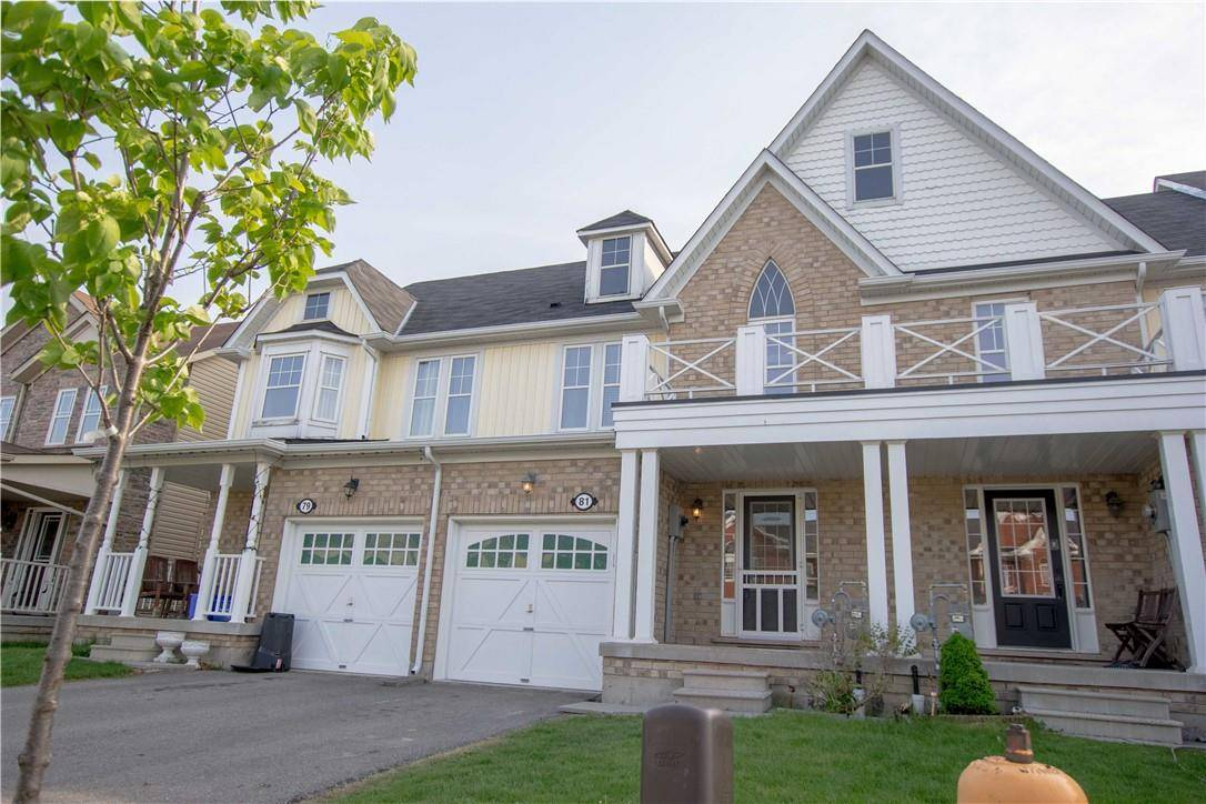 Townhouse for rent at 81 Blue Sky Tr Waterdown Ontario - MLS: H4064275