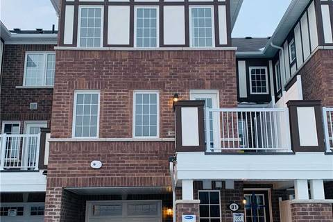 Townhouse for rent at 81 Bluegill Cres Whitby Ontario - MLS: E4693820