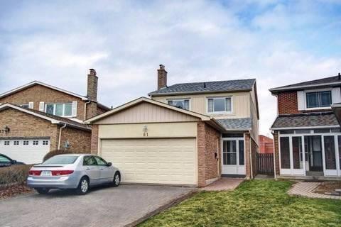 House for sale at 81 Buckhurst Cres Toronto Ontario - MLS: E4447263