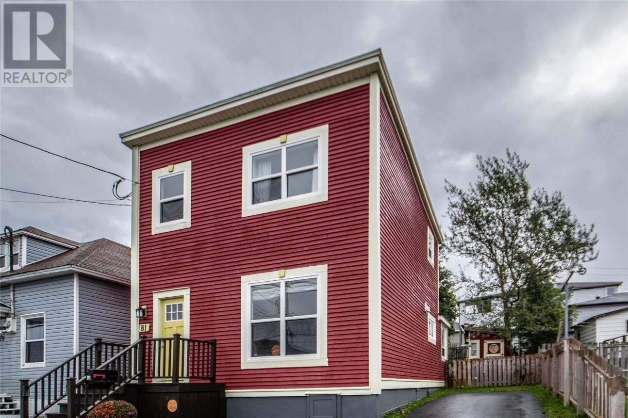 House for sale at 81 Calver Ave St. John's Newfoundland - MLS: 1221432