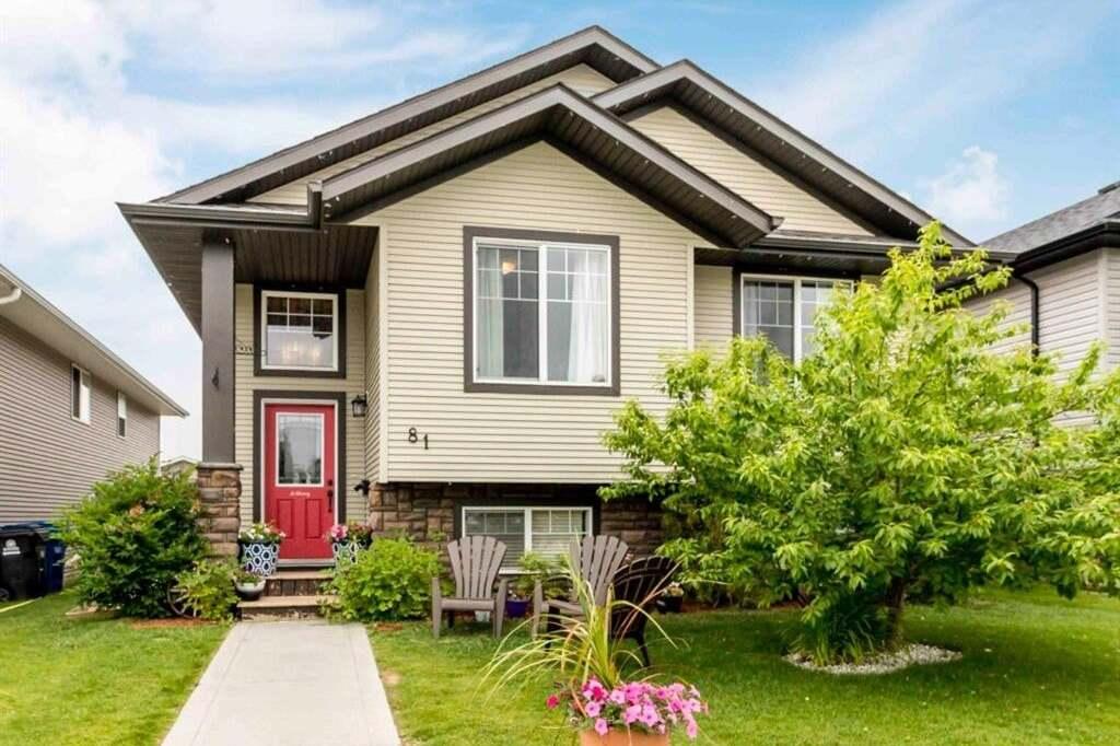 House for sale at 81 Cedar Cres Blackfalds Alberta - MLS: A1007644