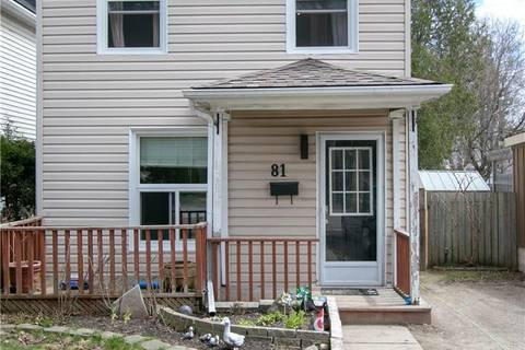 House for sale at 81 Chalmers St North Cambridge Ontario - MLS: 30717632