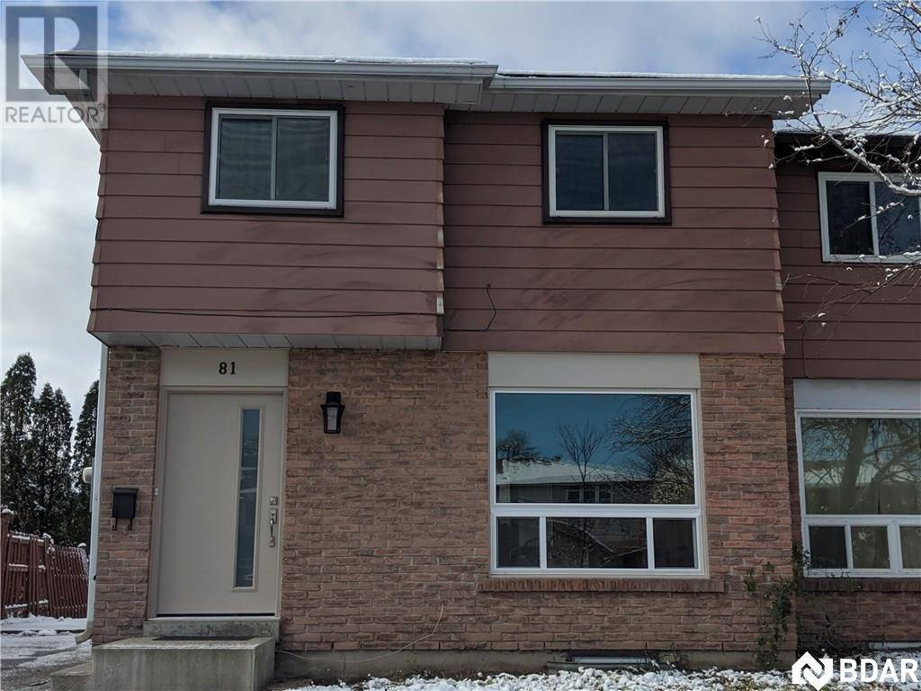 House for rent at 81 Christie Cres Barrie Ontario - MLS: 30777124
