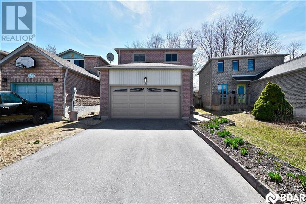 Townhouse for sale at 81 Ferguson Dr Barrie Ontario - MLS: 30804121