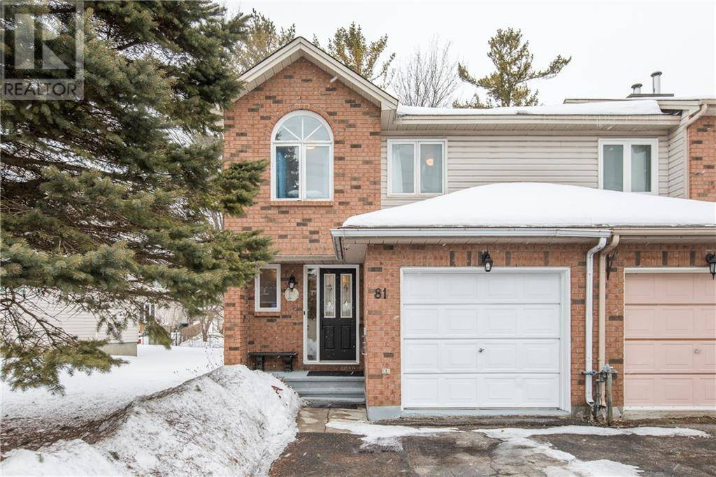 Townhouse for sale at 81 Furlong Cres Ottawa Ontario - MLS: 1184084