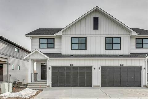 Townhouse for sale at 81 Harvest Grove Common Northeast Calgary Alberta - MLS: C4290803