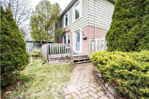 Townhouse for sale at 81 Lillooet Cres Richmond Hill Ontario - MLS: N4423199