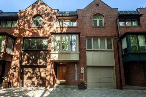 Townhouse for rent at 81 Lowther Ave Toronto Ontario - MLS: C4553775