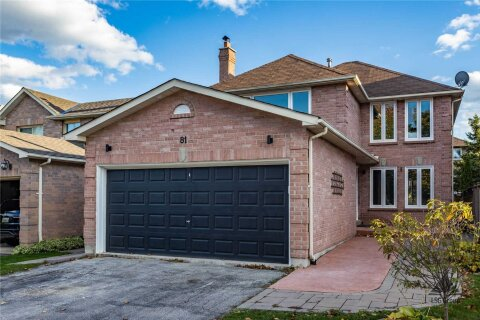 House for sale at 81 Mullen Dr Ajax Ontario - MLS: E4966246