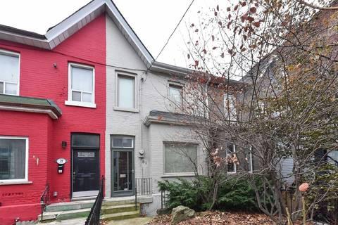 Townhouse for rent at 81 Niagara St Toronto Ontario - MLS: C4640591