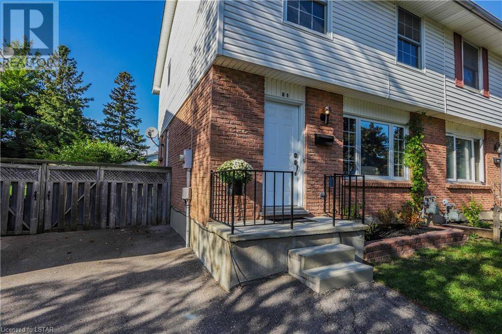 Home for sale at 81 Patience Cres London Ontario - MLS: 222525