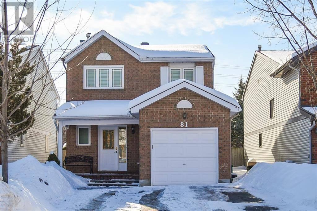 House for sale at 81 Saddle Cres Ottawa Ontario - MLS: 1182898