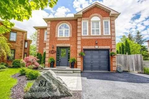 House for sale at 81 Sunbird Blvd Georgina Ontario - MLS: N4777358
