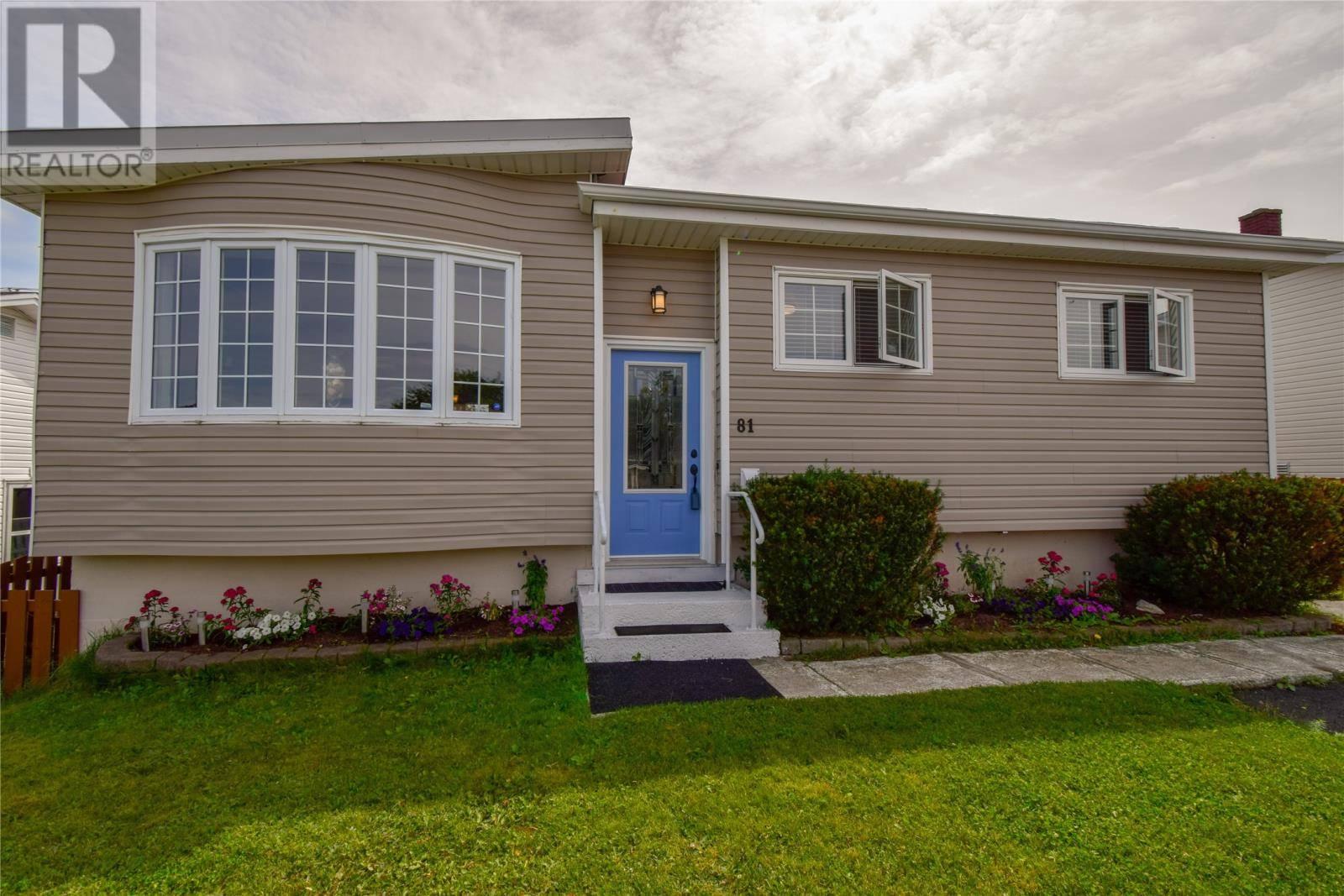House for sale at 81 Terra Nova Rd St. John's Newfoundland - MLS: 1205318