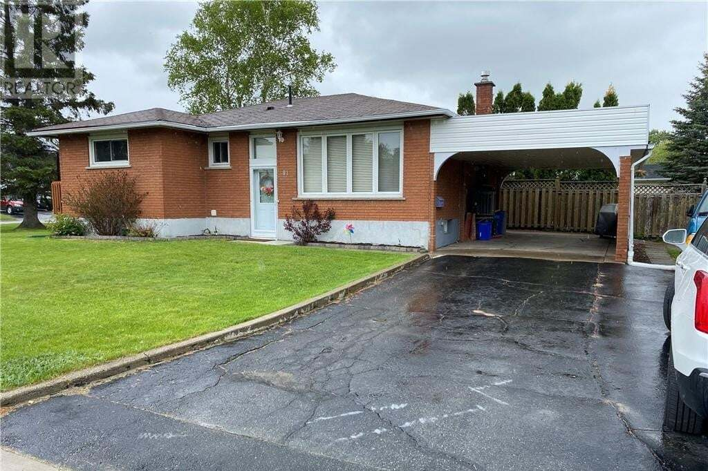 House for sale at 81 Vaillancourt Cres Chelmsford Ontario - MLS: 2085550