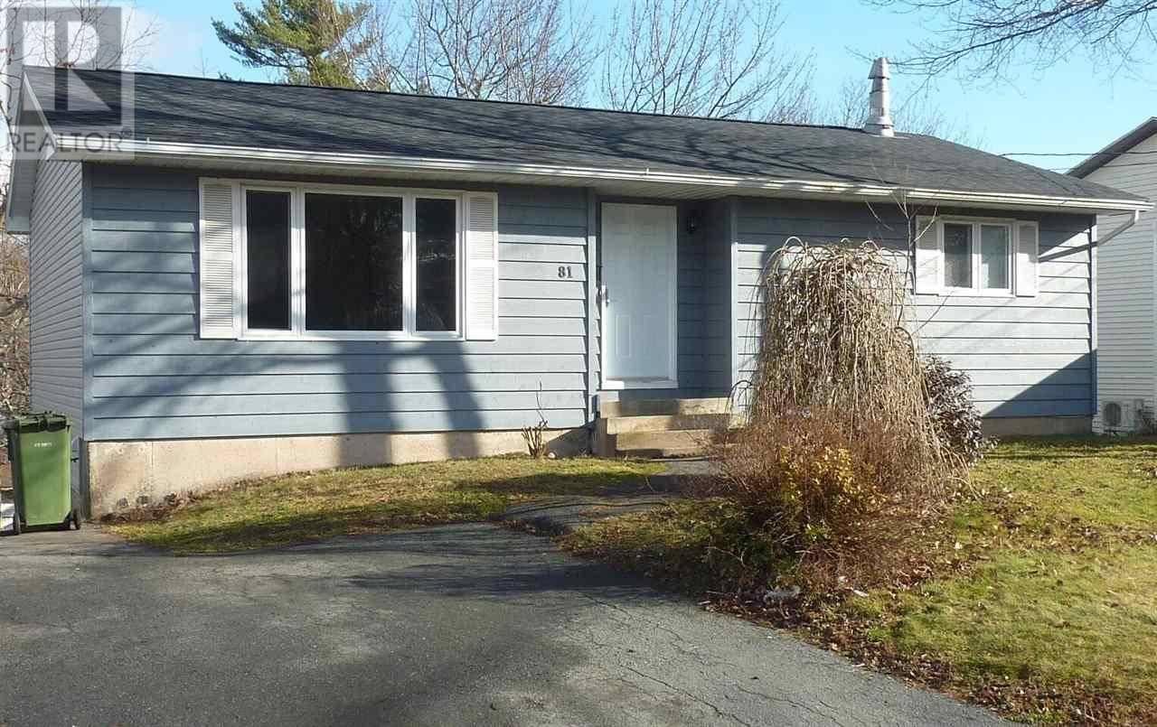 House for sale at 81 Wildwood Blvd Dartmouth Nova Scotia - MLS: 201927144
