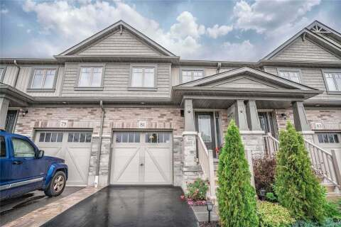 Townhouse for sale at 81 Winterton Ct Orangeville Ontario - MLS: W4827537