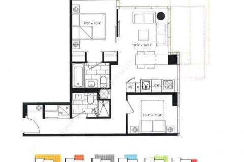 Apartment for rent at 77 Shuter St Unit 810 Toronto Ontario - MLS: C4963182