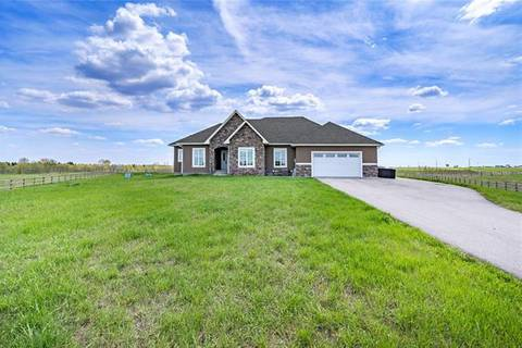 House for sale at 81007 404 Ave East Rural Foothills County Alberta - MLS: C4246247