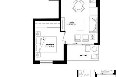 Apartment for rent at 3091 Dufferin St Unit 811 Toronto Ontario - MLS: W4671241
