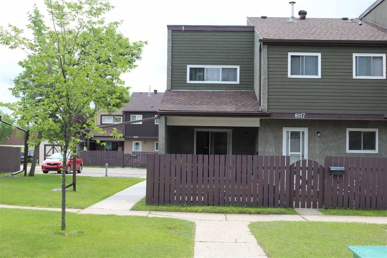 Townhouse for sale at 8117 27 Ave Nw Edmonton Alberta - MLS: E4163650