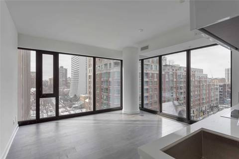 Apartment for rent at 188 Cumberland St Unit 812 Toronto Ontario - MLS: C4671983
