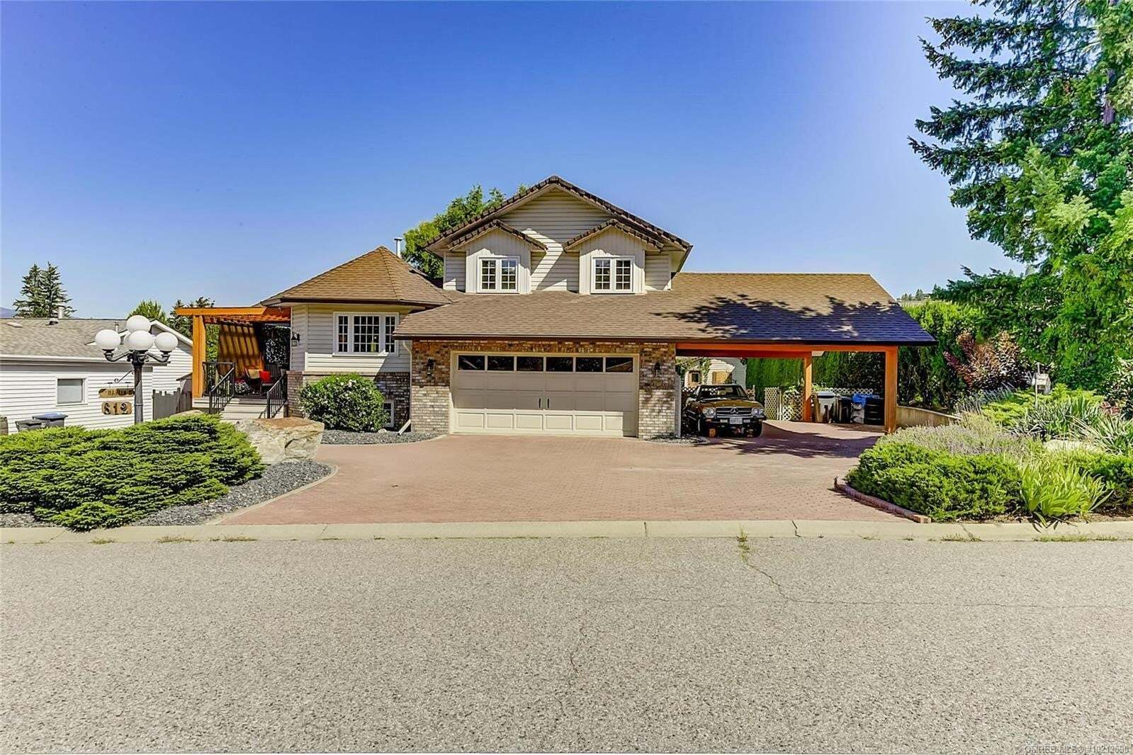 House for sale at 812 Riley Ct Kelowna British Columbia - MLS: 10212590