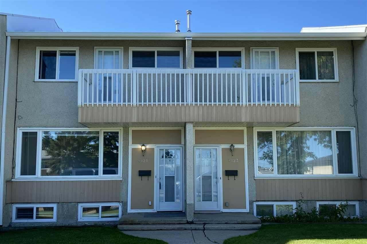 Townhouse for sale at 8121 132a Av NW Edmonton Alberta - MLS: E4207106