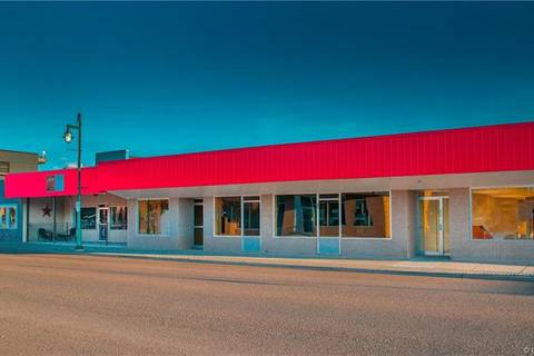 Commercial property for sale at 813 Main St Pincher Creek Alberta - MLS: LD0158058